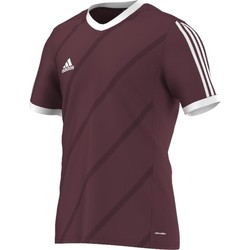 Clothing Men short-sleeved t-shirts adidas Originals Tabela 14 Climalite Junior Burgundy