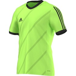 Clothing Men short-sleeved t-shirts adidas Originals Tabela 14 Climalite Green