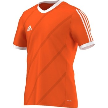 Clothing Men short-sleeved t-shirts adidas Originals Tabela 14 Climalite Junior Orange