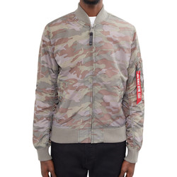 Clothing Men Jackets Alpha Industries MA-1 TT Bomber Jacket Camo Green