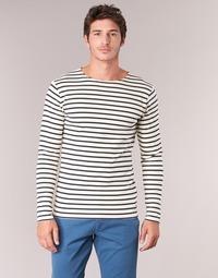Clothing Men Long sleeved tee-shirts Armor Lux GELGA White / Marine