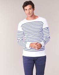 Clothing Men Long sleeved tee-shirts Armor Lux DISJON White / Blue