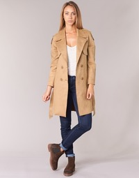 Clothing Women coats Casual Attitude HAMEL Camel