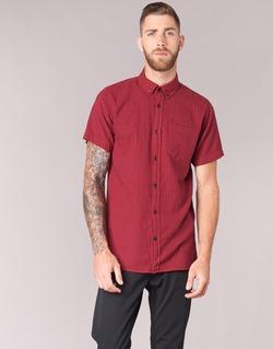 Clothing Men short-sleeved shirts Jack & Jones JOHAN ORIGINALS Red