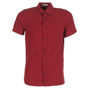 Clothing Men short-sleeved shirts Jack & Jones JOHAN ORIGINALS Red