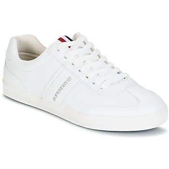 Shoes Women Low top trainers Superdry COURT CLASSIC SLEEK TRAINER White