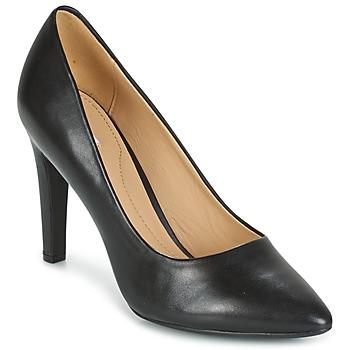 Shoes Women Heels Geox D CAROLINE C - NAPPA Black