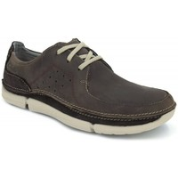 Shoes Men Low top trainers Clarks Claks Trikeyon Fly brown