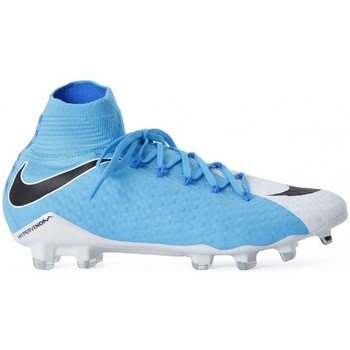 Shoes Men Football shoes Nike Hypervenom Phatal Iii Dynamic Fit White-Blue