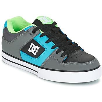 Shoes Men Skate shoes DC Shoes PURE Grey / Green / Blue