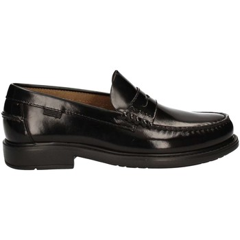 Shoes Men Loafers CallagHan 9000 Mocassins Man Black Black