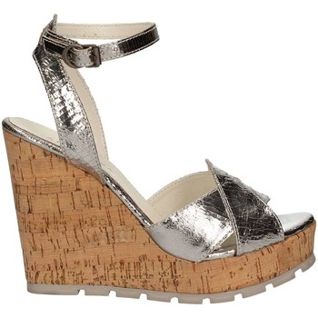 Shoes Women Sandals Apepazza FRT47 Wedge sandals Women Silver Silver