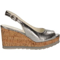 Shoes Women Sandals Apepazza LCK03 Wedge sandals Women Silver Silver