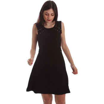 Clothing Women Short Dresses Gaudi 73FD15204 Dress Women Black Black