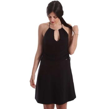 Clothing Women Short Dresses Gaudi 73FD15257 Dress Women Black Black