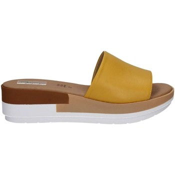 Shoes Women Mules Grace Shoes 10143 Sandals Women Yellow Yellow
