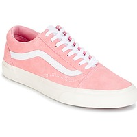 Shoes Women High boots Vans Old Skool Pink