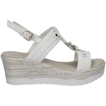 Shoes Women Sandals Grace Shoes 51404 Wedge sandals Women Bianco Bianco