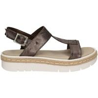 Shoes Women Sandals Grace Shoes 63435 Sandals Women Grey Grey