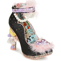 Shoes Women Heels Irregular Choice ALL ABOUT MOI  black