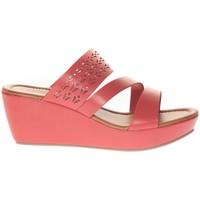 Shoes Women Sandals Vera & Lucy Sandale Compensé  Rouge 78-35 Red