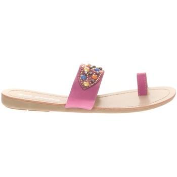 Shoes Women Sandals Vera & Lucy Sandale Fushia entre doigt bridées & Strass Pink