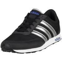 Shoes Men Low top trainers adidas Originals V Racer Black-White-Silver