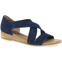 Shoes Women Sandals Pinaz Zara Ladies Espadrilles blue
