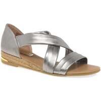 Shoes Women Sandals Pinaz Zara Ladies Espadrilles Silver