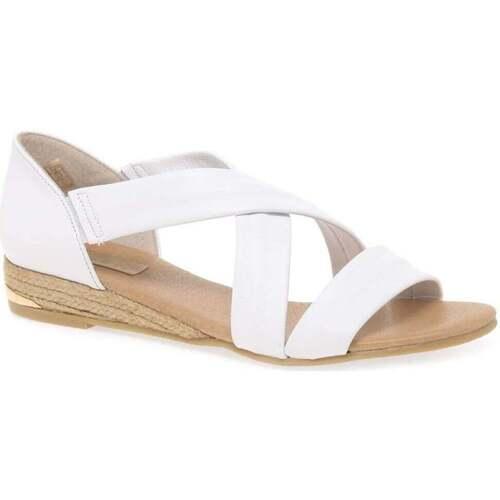 Shoes Women Sandals Pinaz Zara Ladies Espadrilles white