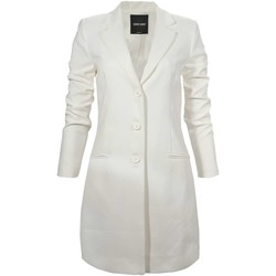 Clothing Women Jackets / Blazers Denny Rose 73DR13000 Blazer Women Bianco Bianco