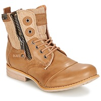 Shoes Women Mid boots Bunker SARA TAUPE
