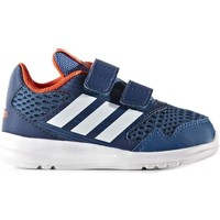 Shoes Girl Low top trainers adidas Performance BA7429 Sport shoes Kid Blue Blue