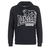 Clothing Men sweaters Lonsdale TADLEY Black