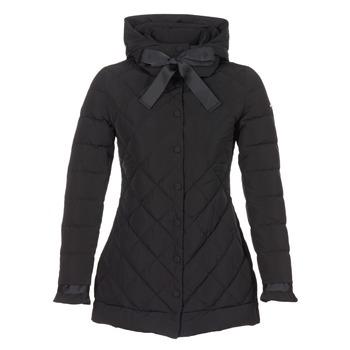 Clothing Women Duffel coats Armani jeans JERNDA Black
