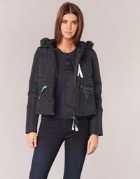 Clothing Women Duffel coats Armani jeans JIORM Black