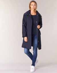 Clothing Women Trench coats Armani jeans MERCHA Marine