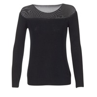 Clothing Women jumpers Armani jeans LAMOC Black
