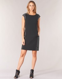 Clothing Women Short Dresses Armani jeans LAMIC Black / Grey