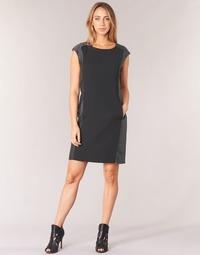Clothing Women Short Dresses Armani jeans LAMIC Black / Grey