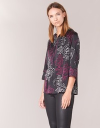Clothing Women Tops / Blouses Armani jeans DRENIZ Black