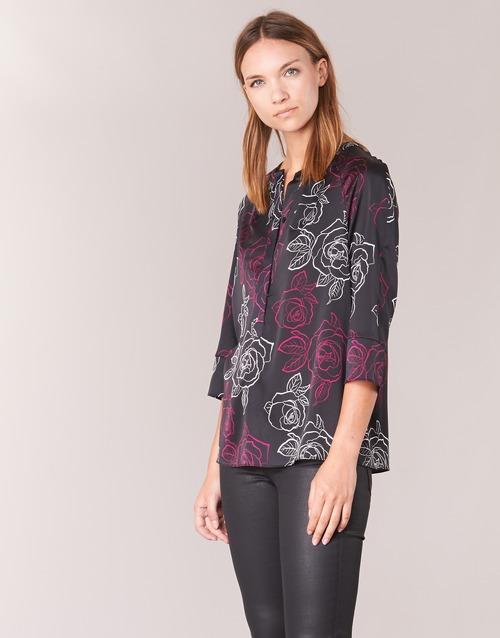 Clothing Women Tops / Blouses Armani jeans DRENIZ Black