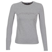 Clothing Women Long sleeved tee-shirts Armani jeans DRANOZ Grey