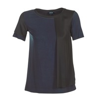 Clothing Women short-sleeved t-shirts Armani jeans DRANIZ Marine / Black