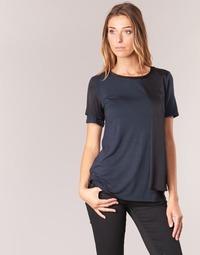 Clothing Women short-sleeved t-shirts Armani jeans DRANIZ Marine / Black