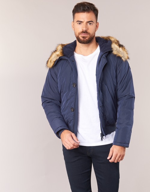 Clothing Men Duffel coats Armani jeans GNAN Marine