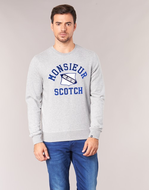 Clothing Men sweaters Scotch & Soda JARISCO Grey