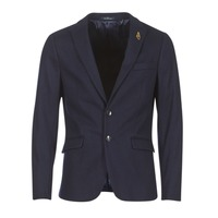 Clothing Men Jackets / Blazers Scotch & Soda DARLO Marine