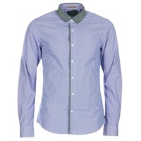 Clothing Men Long-sleeved shirts Scotch & Soda JILLA Blue