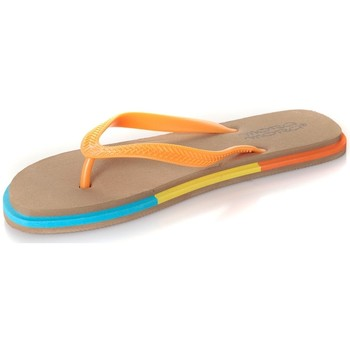 Shoes Women Flip flops Mora Mora Tong Rumba Beige Beige